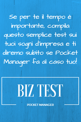 Biz Test, Pocket Manager