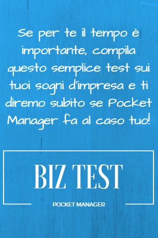 Biz Test, Pocket Manager