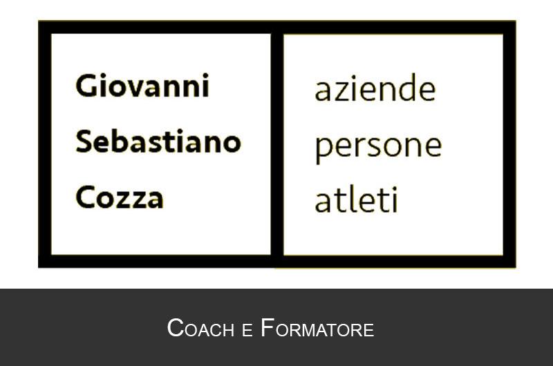 Giovanni Sebastiano Cozza Coach e Formatore