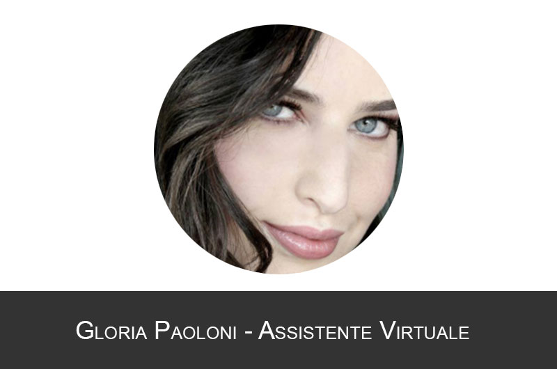 Gloria Paoloni Assistente virtuale